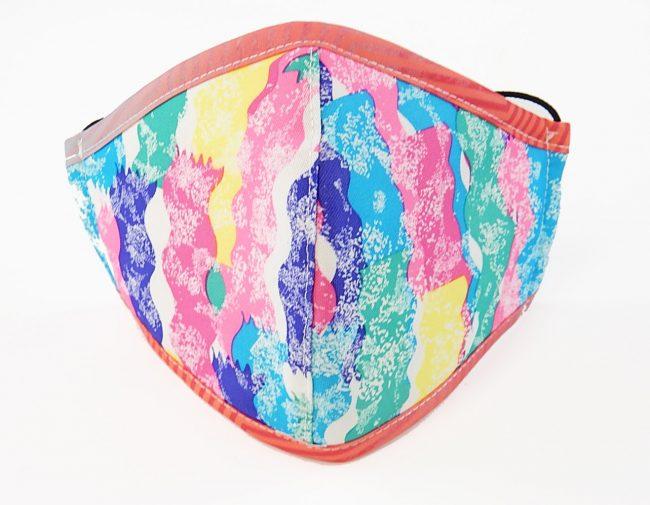 3-layer multicolor mask