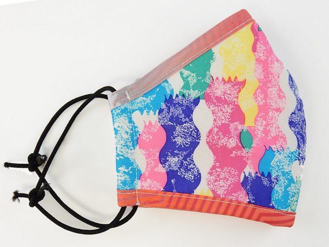 3-layer multicolor mask-s